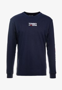 Tommy Jeans - Long sleeved top - black iris - 4