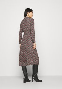 King Louie - OLIVE DRESS PALMER - Košilové šaty - black - 2