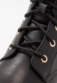 Panama Jack - GATHA IGLOO TRAVELLING - Lace-up ankle boots - black - 2