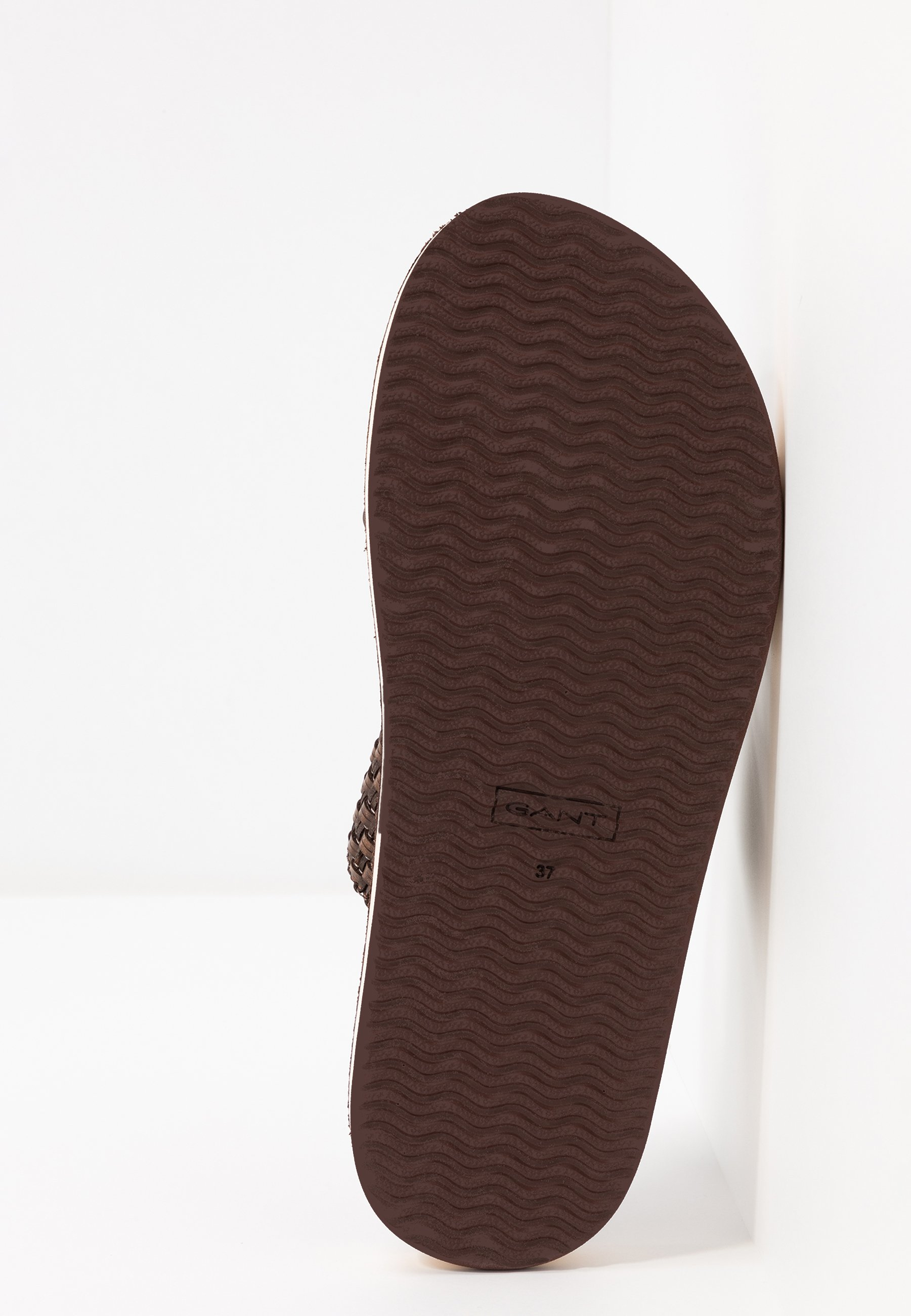 FLATVILLE Slip ins dark brown
