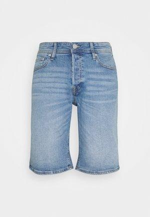 JJIRICK JJORIGINAL  - Szorty jeansowe - blue denim