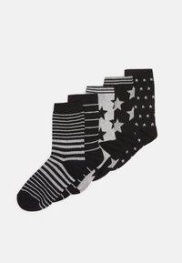 Anna Field - 5 PACK - Ponožky - black - 0