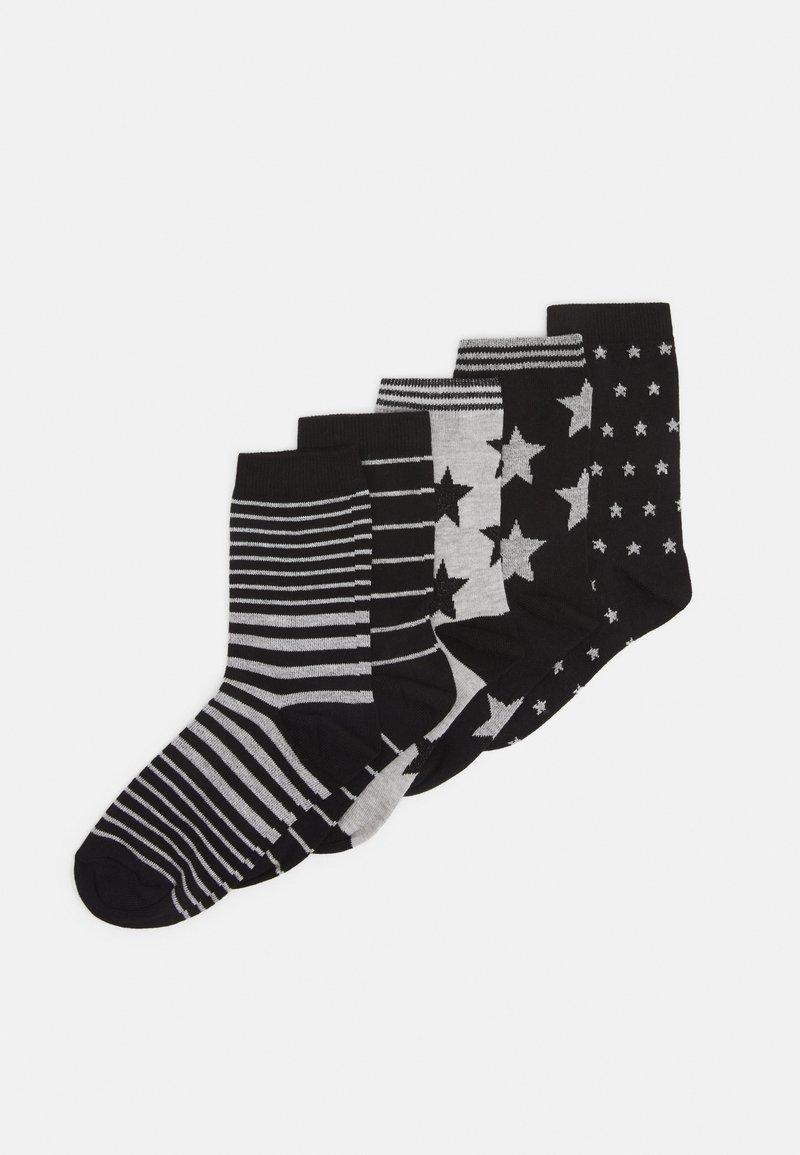 Anna Field - 5 PACK - Ponožky - black