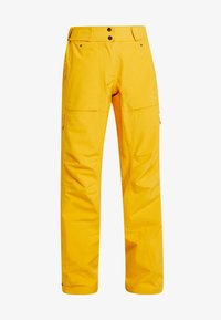 PYUA - RELEASE - Snow pants - pumpkin yellow - 5