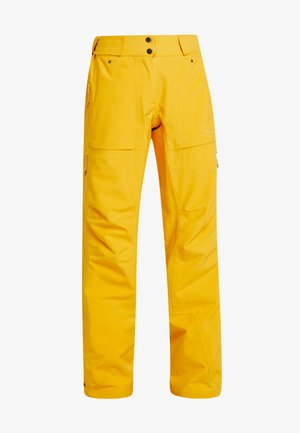 RELEASE - Ski- & snowboardbukser - pumpkin yellow
