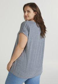 Zizzi - T-shirts - dark blue - 2
