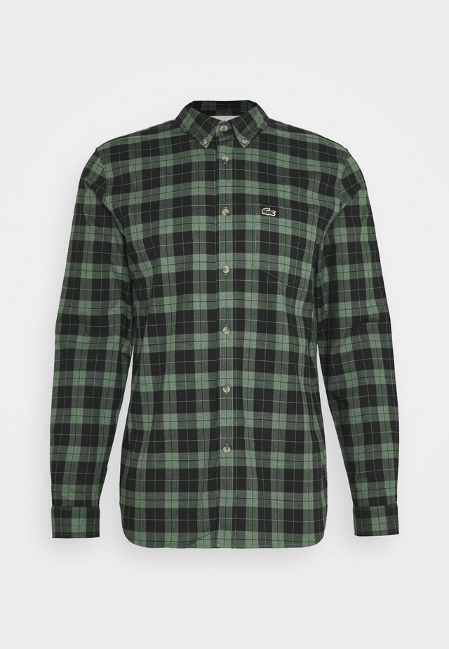 Chemise - black/dark green