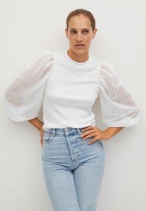 VELASCO - T-shirt à manches longues - off white