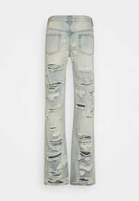 Jaded London - EXTREME RIPPED  - Jeans a sigaretta - blue - 1