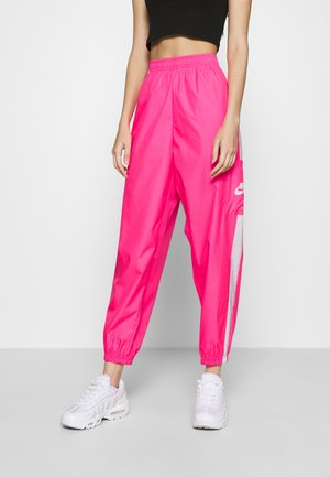 PANT  - Trainingsbroek - hyper pink/white