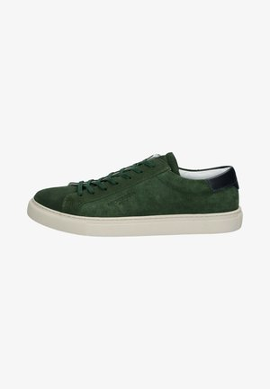 Sneakers laag - army