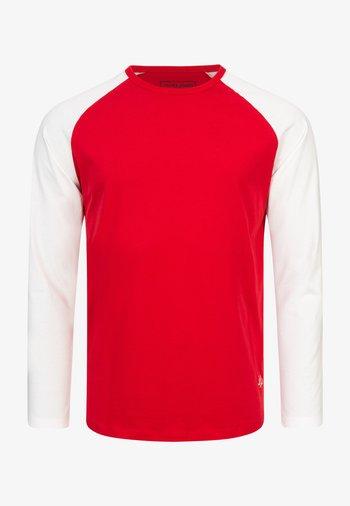 MIT RAGLANÄRMELN  - Long sleeved top - tango red