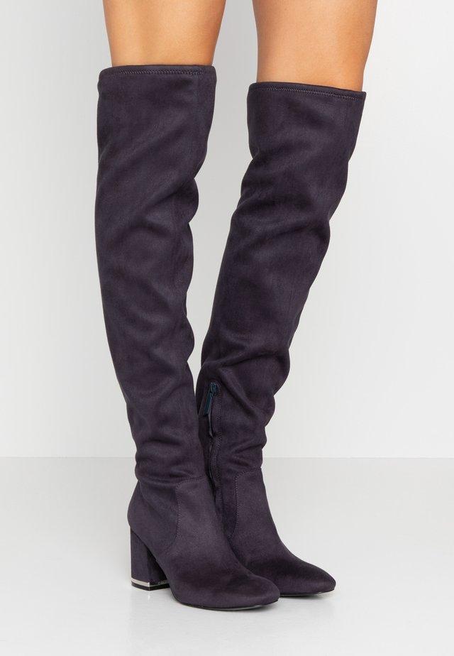 MONIFAH - Over-the-knee boots - deep navy