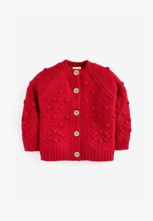 CHUNKY - Cardigan - red