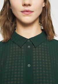 JDY - JDYDIANE PUFF SHIRT - Button-down blouse - scarab - 5
