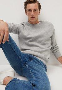 Mango - BOB - Straight leg jeans - bleu foncé - 5