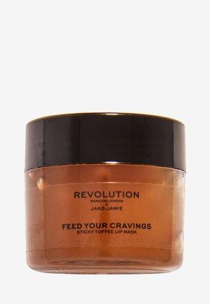 REVOLUTION SKINCARE X JAKE JAMIE STICKY TOFFEE PUDDING LIP MASK - Lip scrub - -