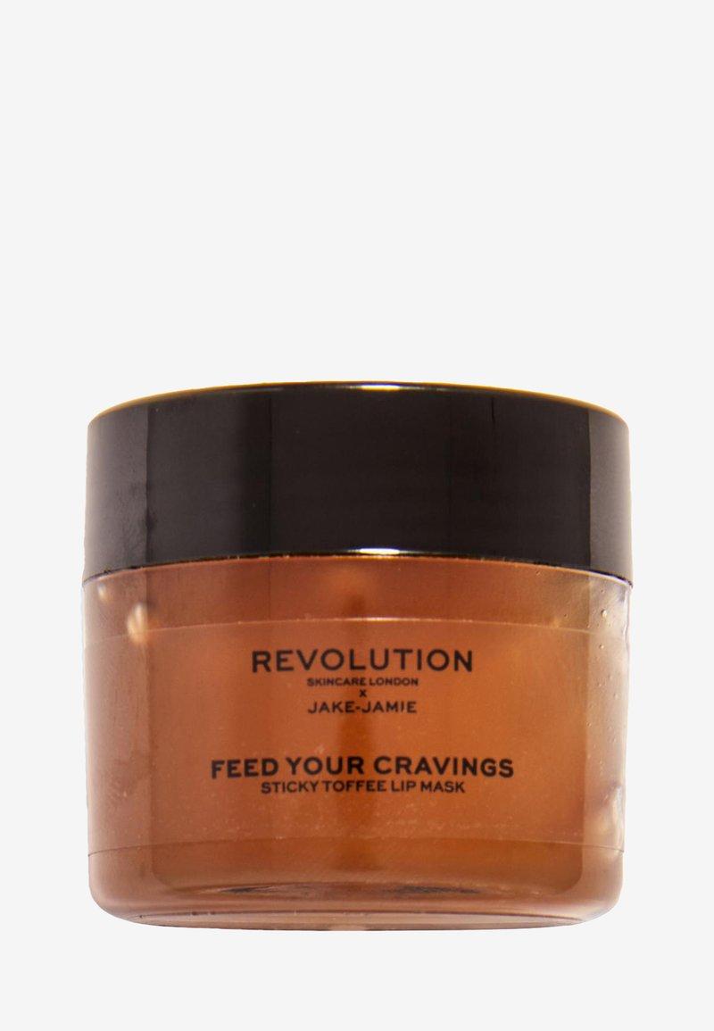 Revolution Skincare - REVOLUTION SKINCARE X JAKE JAMIE STICKY TOFFEE PUDDING LIP MASK - Lip scrub - -