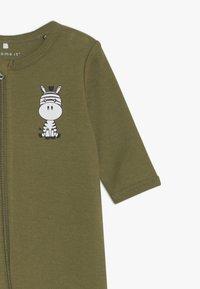 Name it - NBMNIGHTSUIT  ZIP 2 PACK - Pyjamas - loden green - 4