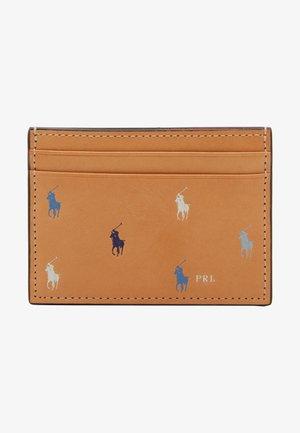 PONY REPEAT CARD CASE - Peněženka - natural