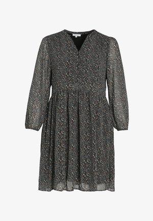 MIT BLUMENAUFDRUCK - Day dress - black