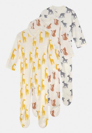 BABY SAFARI 3 PACK UNISEX - Sleep suit - multi-coloured