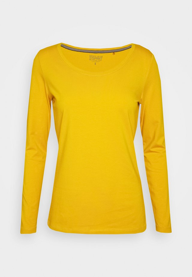 Pitkähihainen paita - brass yellow