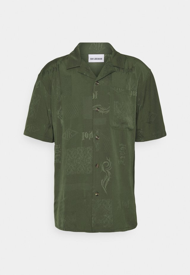 SUMMER  - Camicia - green tribal
