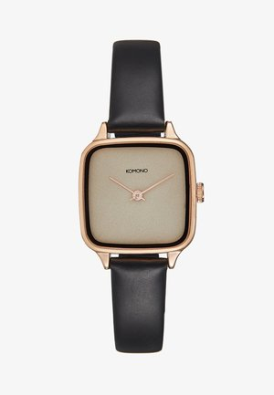 KATE - Montre - black/rose