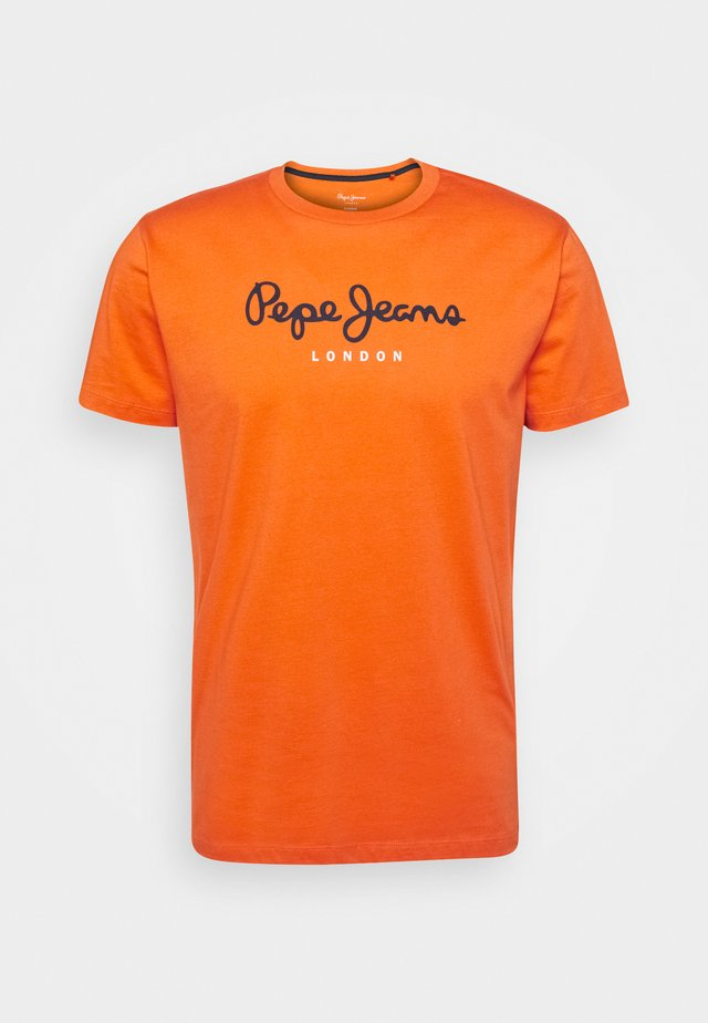 EGGO  - T-shirt imprimé - orange