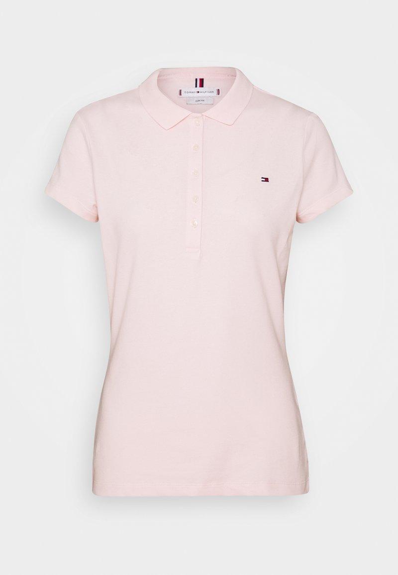 Tommy Hilfiger - SHORT SLEEVE SLIM - Poloskjorter - pale pink