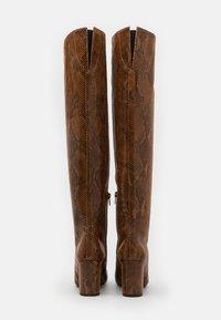 Pinko - LAETITIA STIVALE - Over-the-knee boots - marrone - 3