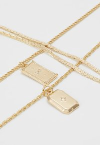 Pieces - PCJEBRUK COMBI NECKLACE - Necklace - gold-coloured - 4