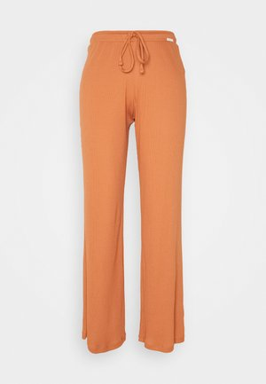 DAMEN LANG SUNDOWN DESERT SLEEP - Pyjama bottoms - burnt orange