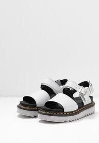 Dr. Martens - VOSS - Platform sandals - light grey hydro - 4