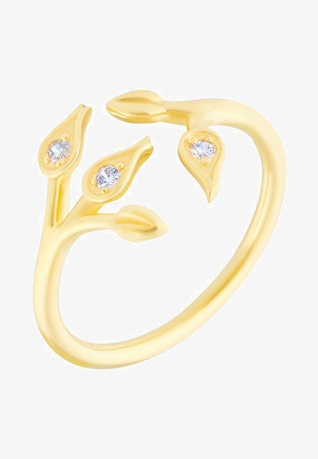 MAGNOLIEN - Ringe - gold