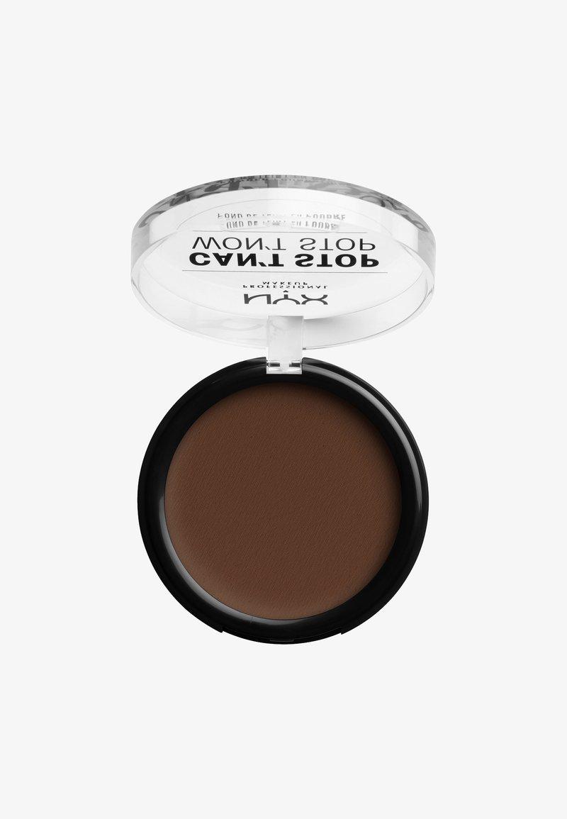 Nyx Professional Makeup - CAN'T STOP WON'T STOP POWDER FOUNDATION - Powder - CSWSPF22PT3 walnut