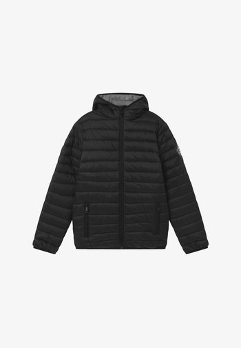 TEENS BIG - Winter jacket - black/grey