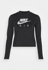 Nike Performance - AIR MID - Sports shirt - black/silver - 3