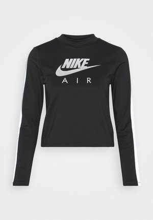 AIR MID - Sports shirt - black/silver