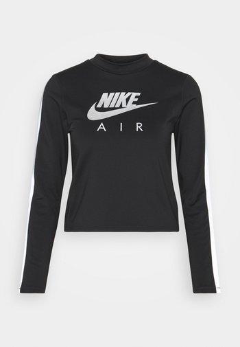AIR MID - Camiseta de deporte - black/silver