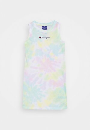 STREET CULTURE DRESS - Urheilumekko - white/multi coloured