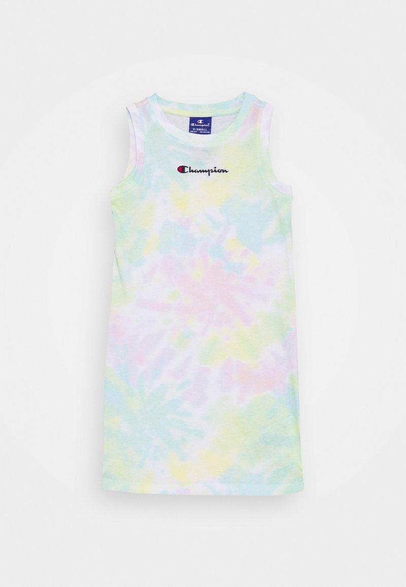Champion Rochester - STREET CULTURE DRESS - Sukienka sportowa - white/multi coloured