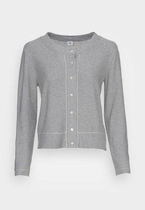 ESSENTIAL - Adīta jaka - medium grey melange