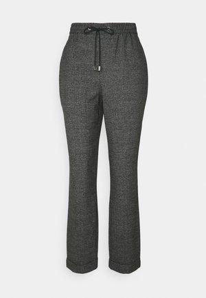 CHECK FORMAL JOGGER - Kalhoty - grey