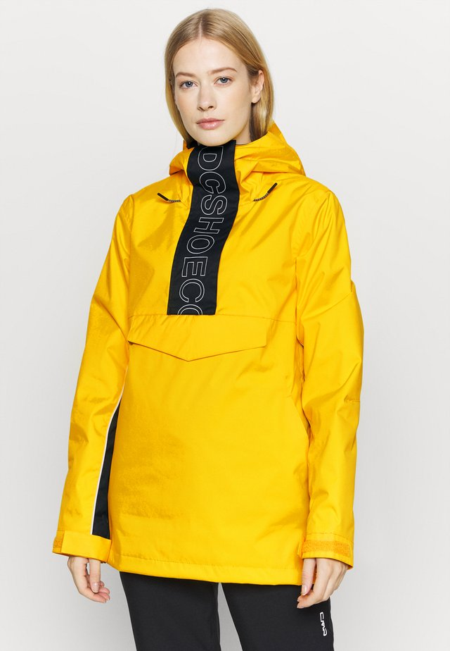 ENVY ANORAK - Giacca da snowboard - lemon chrome