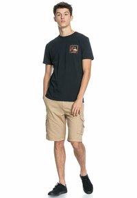Quiksilver - HIGHWAY VAGABOND - Print T-shirt - black - 1