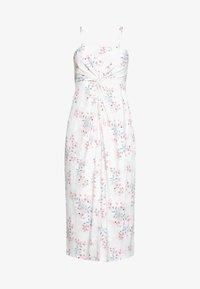 MIDI DRESS - Jersey dress - off white