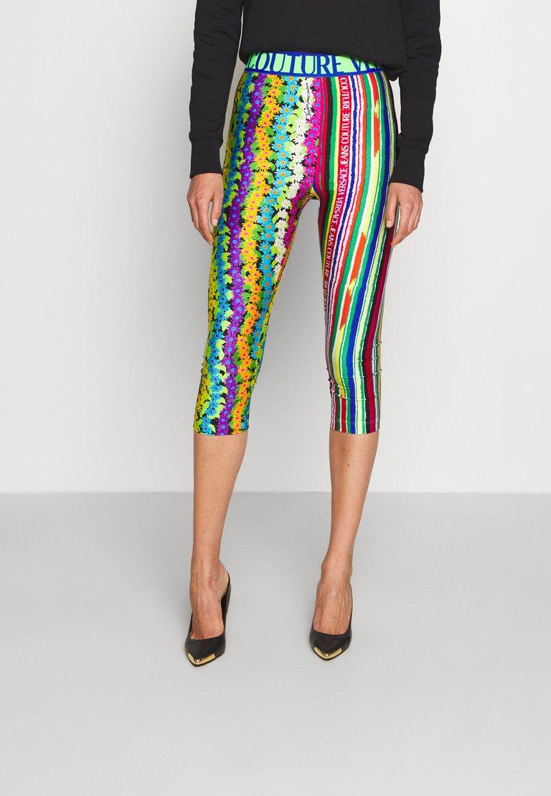 Versace Jeans Couture - PANTS - Leggings - Trousers - multicolour