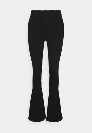 NMSALLIE - Flared Jeans - black